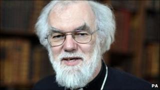 Archesgob Caergaint Dr Rowan Williams
