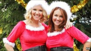 EastEnders actresses Charlie Brooks and Lacey Turner