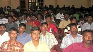 Former Tamil Tigers being released in Vavuniya