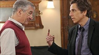 Robert De Niro and Ben Stiller in Little Fockers