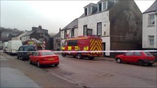 campbeltown fire