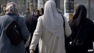 Muslim women in Germany (file image)