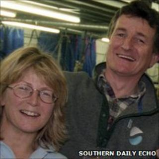 Christine Hughes and David Robinson