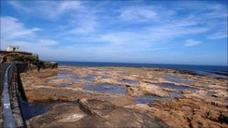 Coastline at Amble, Northumberland