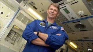 Nasa astronaut Piers Sellers