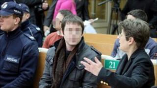 Anders Hoegstroem in court (30 Dec 2010)