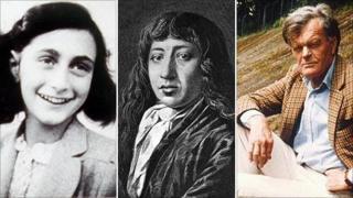 Anne Frank, Samuel Pepys, Alan Clark