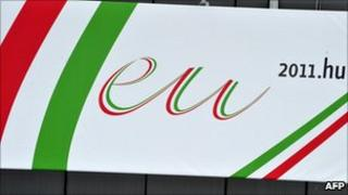 Hungarian EU presidency logo (31 December 2010)