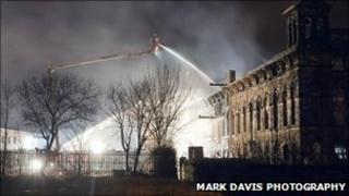 Dalton Mills fire