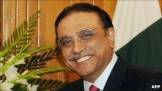 President Ali Asif Zardari