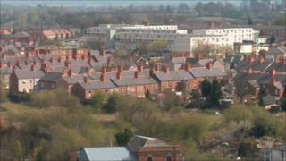 Hightown flats, Wrexham