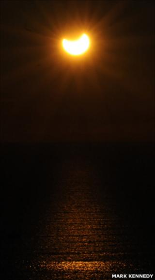 Partial eclipse (Mark Kennedy)
