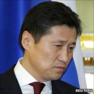 Mongolian prime minister Sukhbaataryn Batbold