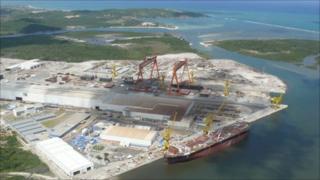 Suape port complex, Brazil