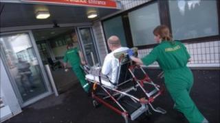 Ambulance crew (generic)