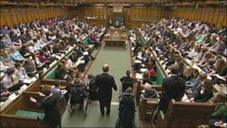 MPs in the Commons