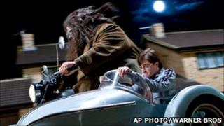 Scene from Harry Potter and the Deathly Hallows: Part One