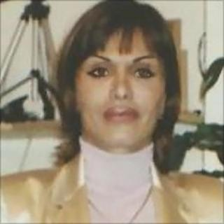 File picture of Sahra Bahrami used in campaigning