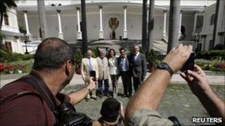 Opposition politicians in Venezuela