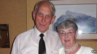 Alan and Winifred Thomas