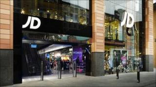 JD Sports in Liverpool