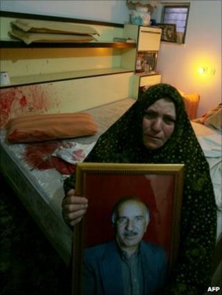 Sobheye, widow of Amr Qawasme - 7 1 2011