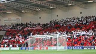Internal picture of Keepmoat Stadium