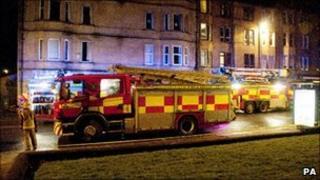 Paisley flat fire