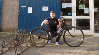Matt MacDonald from the Bike station