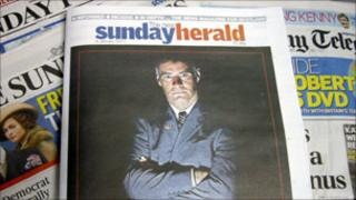 Sunday Herald newspaper