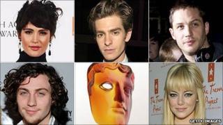 Bafta Rising Star award nominees