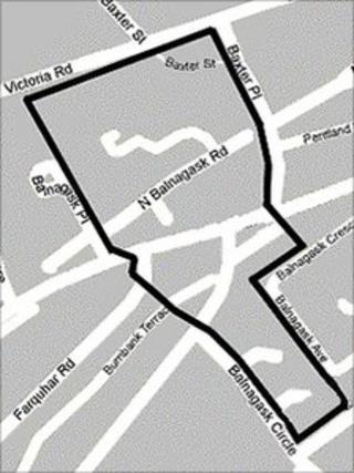 Dispersal order map