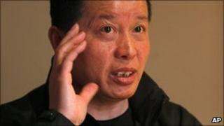 Photo taken on 7 April 2010 of Gao Zhisheng, a human rights lawyer