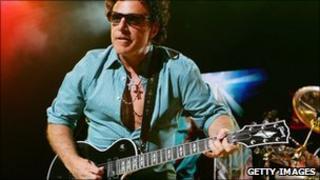 Journey guitarist Neal Schon