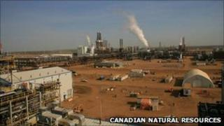 The Horizon Oil Sands facility, in a company handout
