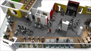 King Alfred Leisure Centre gym
