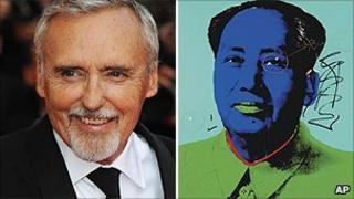 Dennis Hopper and Warhol's Mao