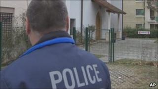 Policeman in Switzerland
