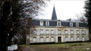 'Chateau d'Hardricourt', a mansion in the western Paris suburb of Hardricourt once owned by the Central African Republic ruler Jean-Bedel Bokassa. France, 12 January 2011