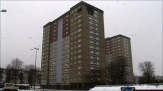 Adamsons Court flats