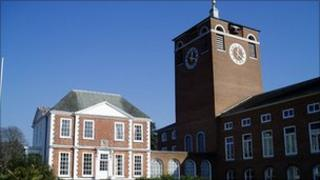 County Hall, Exeter