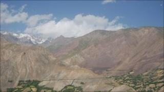 View of Badakhshan region in Pamir mountains (Image: Sohrab Zia)