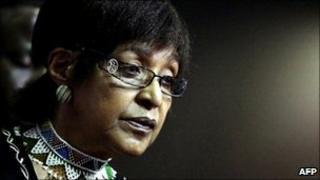 Winnie Mandela photographed in 2010