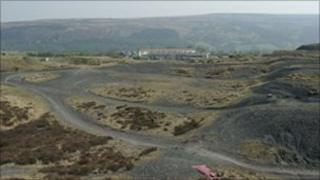 The site at Varteg (Photo courtesy Harmers Ltd)