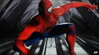 Christopher Tierney portrays Spider-Man in the musical Spider-Man: Turn Off the Dark