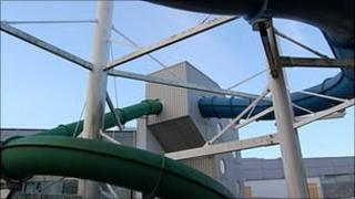 Flumes at Beau Sejour in Guernsey