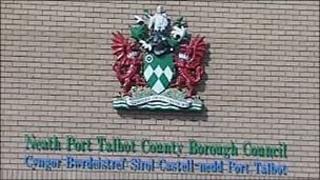 Neath Port Talbot Council office