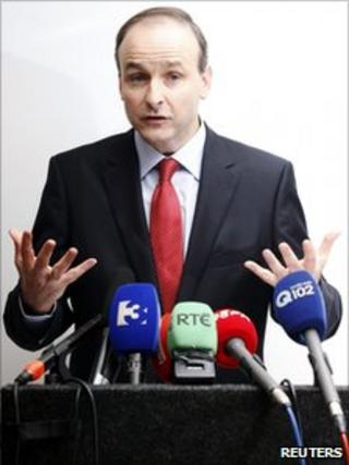 Irish Foreign Minister Micheal Martin (16 Jan 2011)