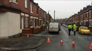 The body was found at an address in Chorlton Road, Stoke-on-Trent