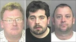 Mark Dixon, Nicholas Harris and Matthew Higgins